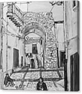 Sutera Rabato Antico Canvas Print