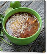 Tortilla Soup Canvas Print