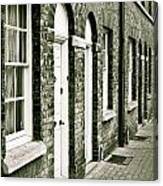 Town Houses Canvas Print