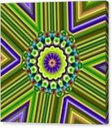 6 Triangle Design Canvas Print
