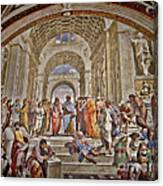 Vatican Art Canvas Print