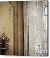 6 With Doorknocker Canvas Print