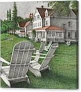 605 Murray Circle Canvas Print