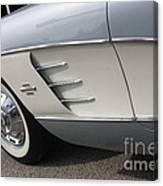 61 Corvette-grey-sidepanel-9241 Canvas Print