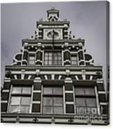 62 Damrak Amsterdam Squared Canvas Print