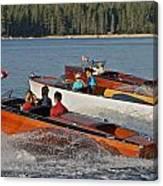 The Boathouse Disney Springs Canvas Print