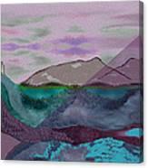 633 - A Dark Stormy Day   Canvas Print