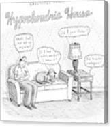 New Yorker December 24th, 2007 Canvas Print