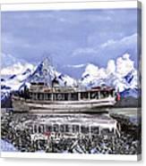 Alaska Yachting Canvas Print