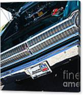 65 Plymouth Satellite Grill-8481 Canvas Print