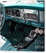 65 Plymouth Satellite Interior-8499 Canvas Print