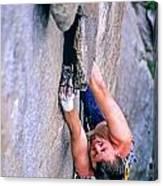 Rock Climber Canvas Print