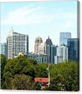 Atlanta Ga. Canvas Print