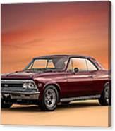 '66 Chevelle Canvas Print