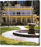 660 Sl Bowers Mansion  Canvas Print