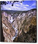 661 Sl Yellowstone Canyon  Canvas Print