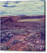 669 Sl Large  Kiva Canvas Print