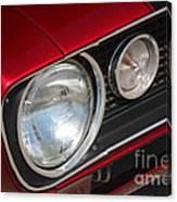 67 Camaro Ss Headlight-8724 Canvas Print