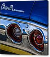 67 Chev Taillight Canvas Print