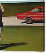 67 Ford Galaxie Canvas Print