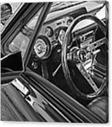 67 Mustang Interior Canvas Print