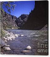 671 Sl Big River Canvas Print