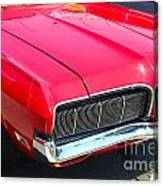 '68 Mercury Cougar Canvas Print
