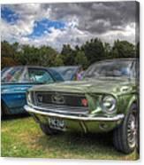 68' Mustang Canvas Print