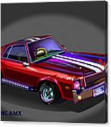 69 Amc Amx Canvas Print