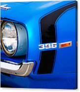 69 Camaro Canvas Print