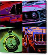 '69 Mustang Canvas Print