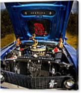 69 Mustang Canvas Print