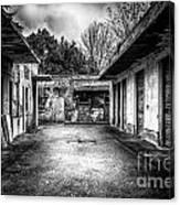 Abandoned Sanatorium Canvas Print