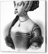 Anne Boleyn (1507-1536) Canvas Print