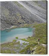 Backpacking In Alaska Talkeetna Canvas Print