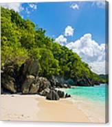 Beautiful Caribbean Beach Canvas Print