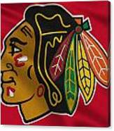 Chicago Blackhawks Uniform Canvas Print