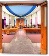 Church Of Saint Columba Canvas Print