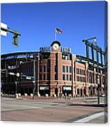 Coors Field - Colorado Rockies Canvas Print
