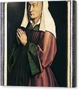 Eyck, Jan Van 1390-1441 Eyck, Hubert Canvas Print