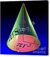 Geometry Equations, Artwork Canvas Print