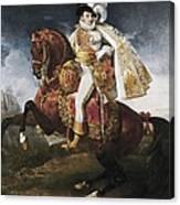 Gros, Antoine Jean, Baron 1771-1835 Canvas Print