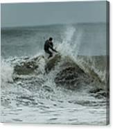 Gulf Coast Surfing Canvas Print