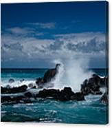 Hookipa Maui North Shore Hawaii Canvas Print