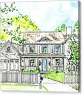 House Rendering Canvas Print