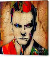 James Cagney Collection Canvas Print
