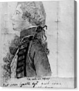 James Wolfe (1727-1759) Canvas Print