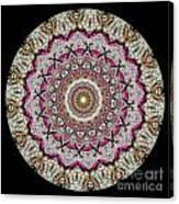 Kaleidoscope Colorful Jeweled Rhinestones Canvas Print