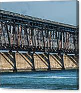 7 Mile Bridge Canvas Print