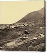 Nevada Virginia City Canvas Print